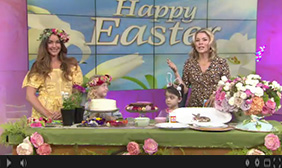 "Good Day LA: The ""How 2 Girl's"" Easter ideas for kids"